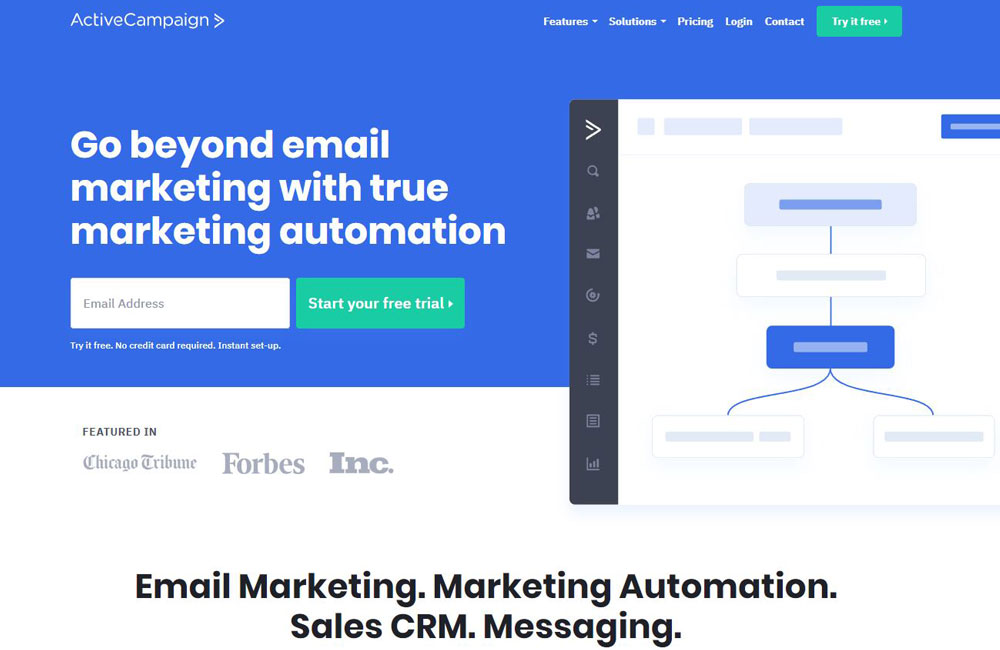 Active Campaign email marketing tool