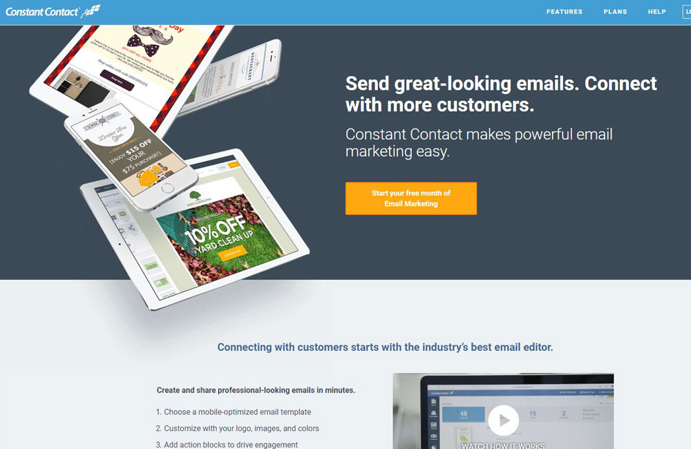 Constant Contact email marketing automation