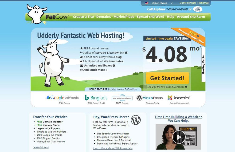 fatcow hosting