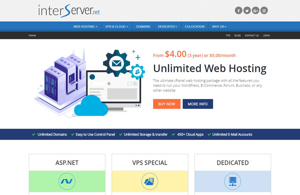 interserver hosting