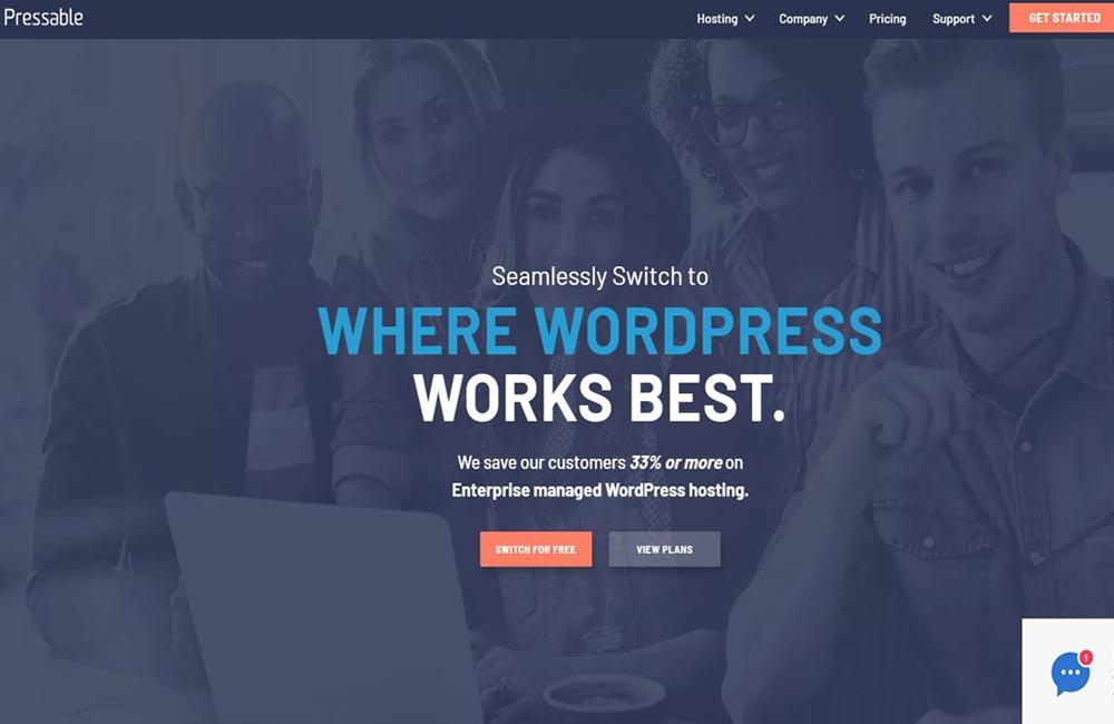 pressable hosting