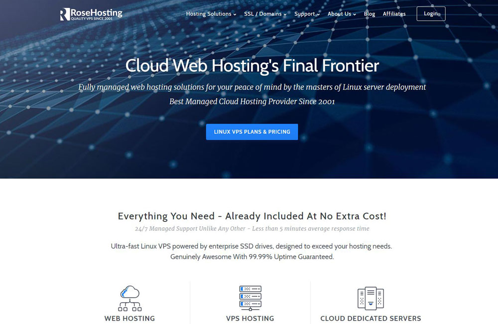 rosehosting hosting